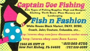 Presenter 1.11.16 Captain Joe Fishing